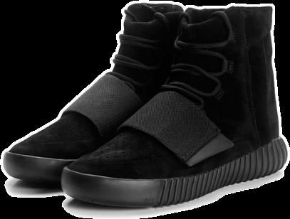 Фото Adidas Yeezy Boost 750 by Kanye West Черные - 3