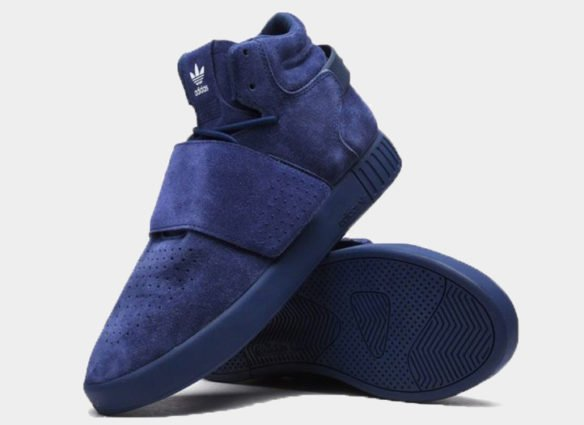 Фото Adidas Tubular Invader Strap синие - 1