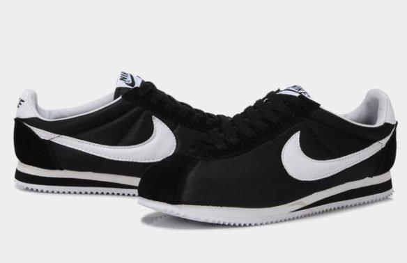 Фото Nike Cortez черные - 1