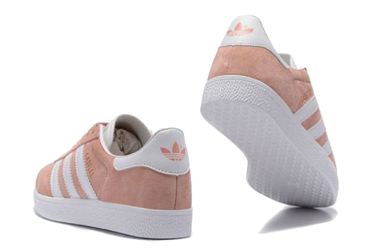 Фото Adidas Gazelle Розовые с Белым - 2
